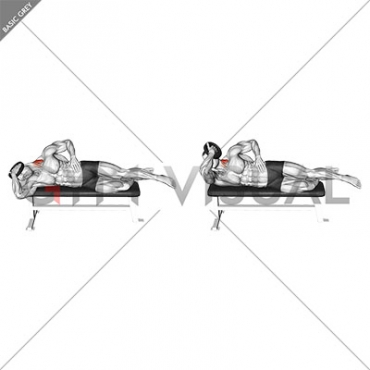 Weighted Side Lying Side Neck Raise