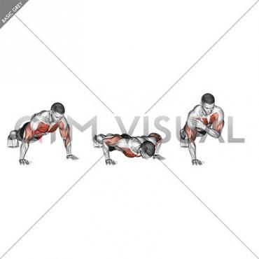 Shoulder Tap Push-up