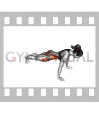 Plank Jack (female)