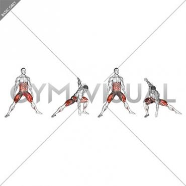 Plyo Side Lunge Stretch (male)