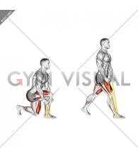 Resistance Band Split Squat