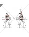 Bar Band Side Bend Press