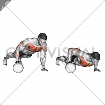Push-Up Medicine Ball