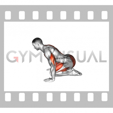 Push-up in Child Pose