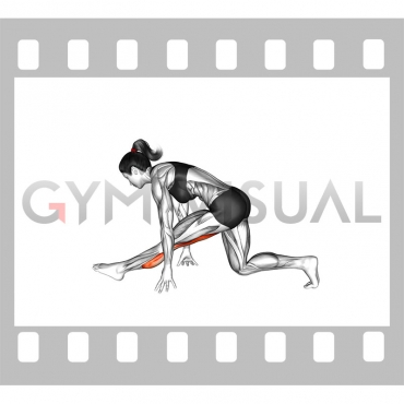 Single Leg Calve Stretch (female)