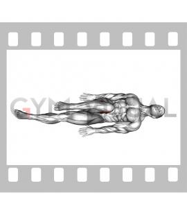 Lying Bent Knee Figure 8
