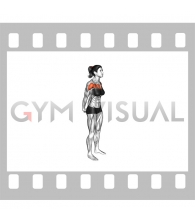 Chest Out Hands Behind (Hold) (female)