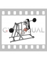 Lever Pendulum Squat (plate loaded)