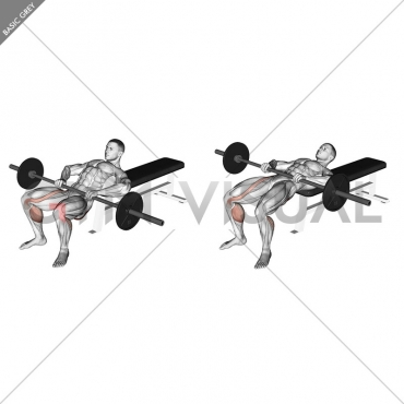 Barbell Lying Lifting (on hip)
