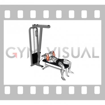 Cable Lying Triceps Extension (Low)