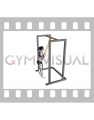Resistance Band Triceps Pushdown (female)