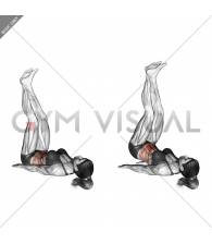 Sideways Lifts Vertical (straight legs)