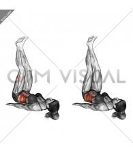 Sideways Lifts Vertical Turn (straight legs)