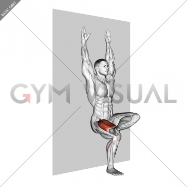 Single Leg Sit (wall)