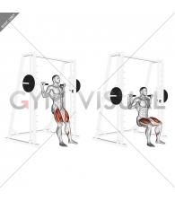 Smith Chair Squat