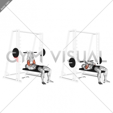 Smith Close-Grip Bench Press
