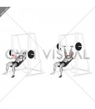 Smith Incline Reverse-grip Press