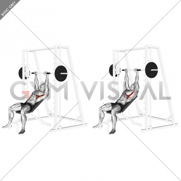 Smith Incline Shoulder Raises