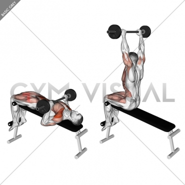 Barbell Press Sit-Up