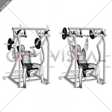 Lever Shoulder Press (plate loaded) version 2