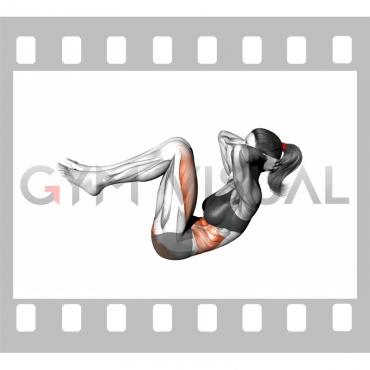 Crunch (leg raise)