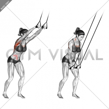 Band straight-arm pulldown