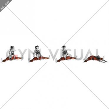 Spread Leg Forward Fold Upavista Konasana