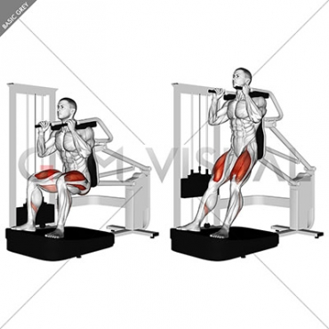 Lever Chair Squat