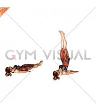 Alternate Lying Floor Leg Raise