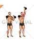 Kettlebell Alternating Press