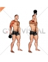 Kettlebell Bottoms Up Clean From The Hang Position