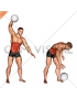 One Arm Slam (with medicine ball)