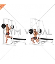 Smith Single Leg Split Squat