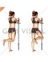 Standing Hip Abduction (bent knee)