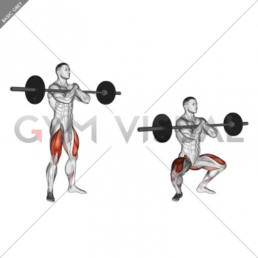 Barbell Zercher Squat