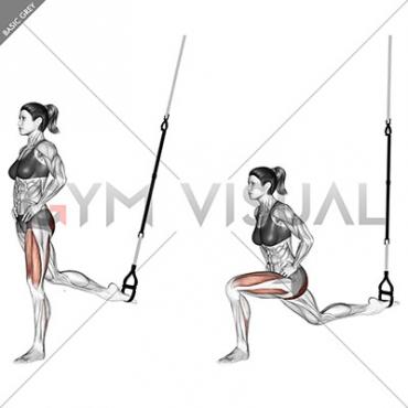Suspension Single Leg Split Squat