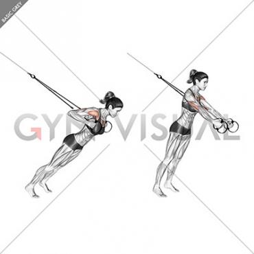 Suspension Close-grip Chest Press