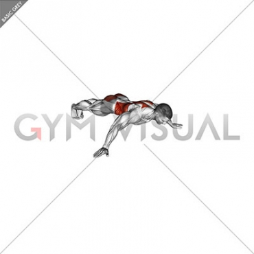 Iron Cross Plank