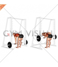 Smith Reverse Grip Bent Over Row