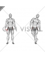 Straight Leg Outer Hip Abductor