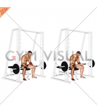 Smith Seated Wrist Curl