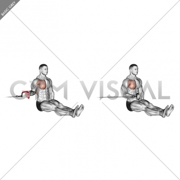 Cable Seated Shoulder Internal Rotation