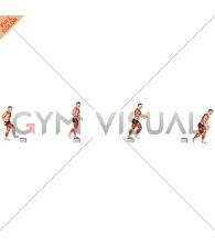 Single Leg Stride Jump