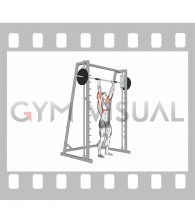 Smith Standing Shoulder Press