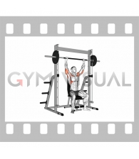 Smith Seated Shoulder Press